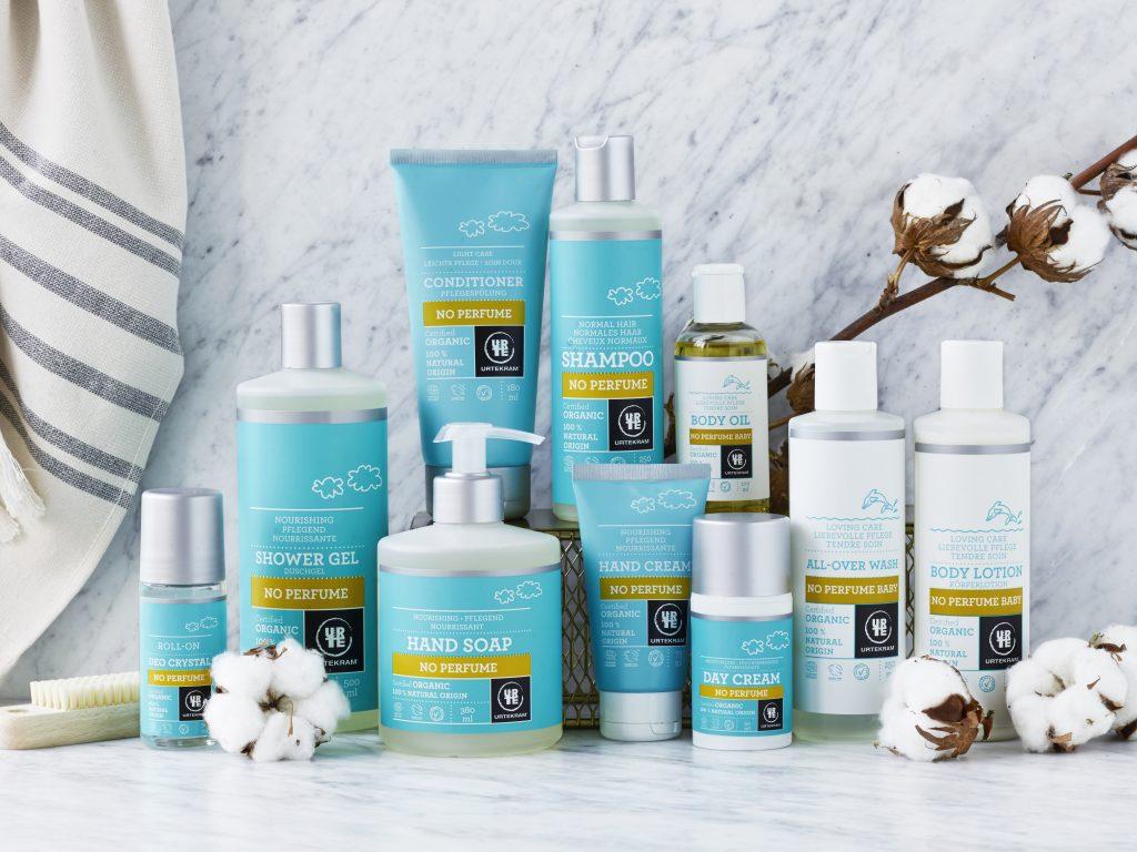Parfymefrie produkter for liten og stor